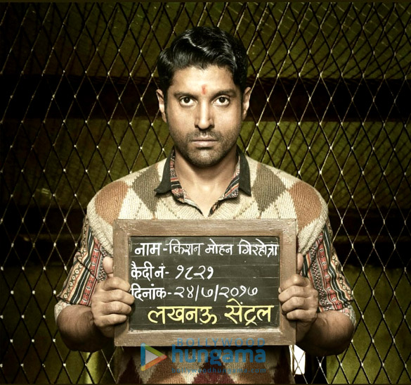 Here's how Farhan Akhtar's first look in Lucknow Central was revealed