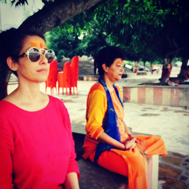 Manisha Koirala was in Haridwar for Guru Purnima and this is what she did-4