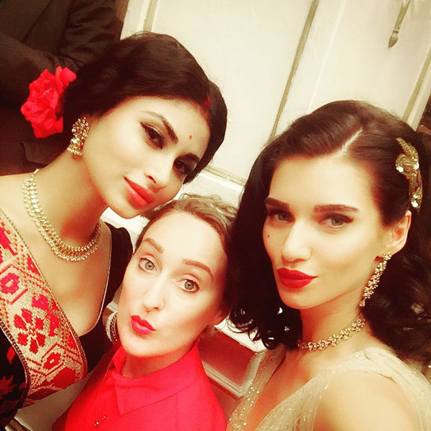 Mouni Roy looks gorgeous in this new song for Gold along with model Scarlett Wilson-1