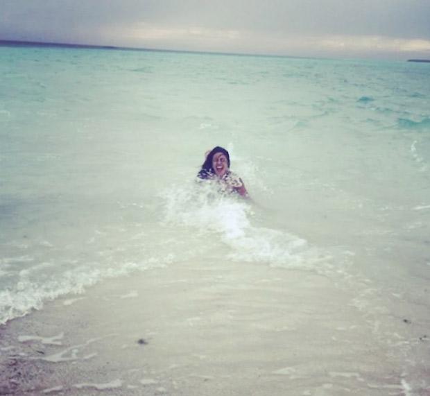 WATCH Here's how Priyanka Chopra is having fun on the beach in a hot swimsuit