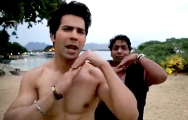 WOW! Shirtless Varun Dhawan promotes Ganesh Acharya's Marathi film Bhikari