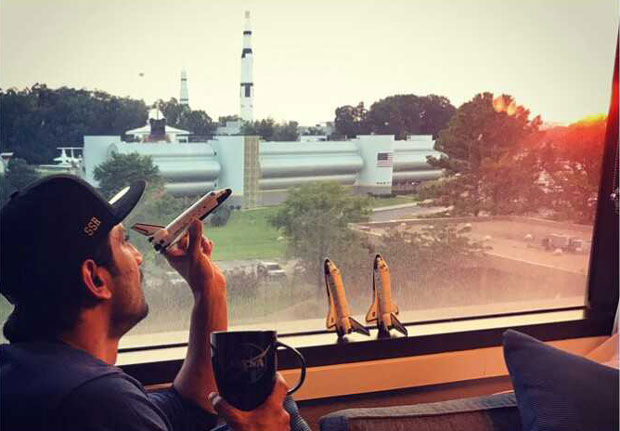 WOW! Sushant Singh Rajput visits US Space & Rocket Centre; fulfils his mother's dream