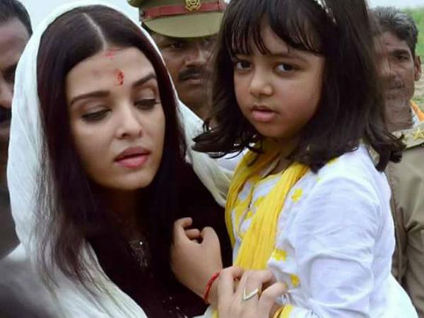 Aishwarya Rai Bachchan visits Allahabad 2