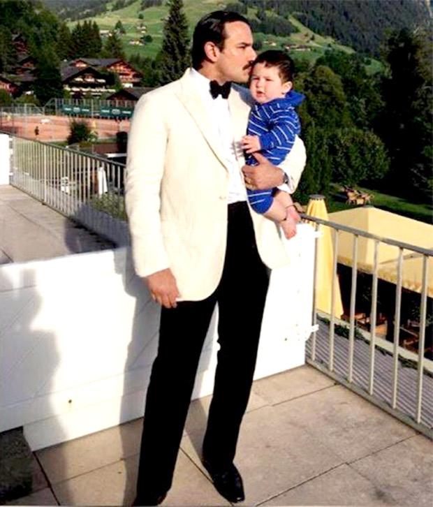Check out Saif Ali Khan and Kareena Kapoor Khan pose with baby Taimur during their Switzerland vacation (3)