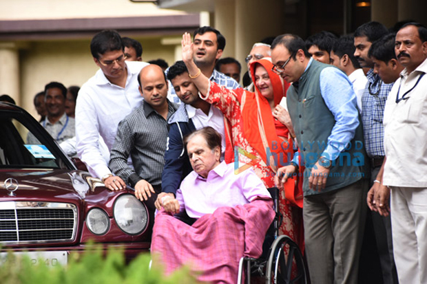 Dilip Kumar discharged from hospital-1