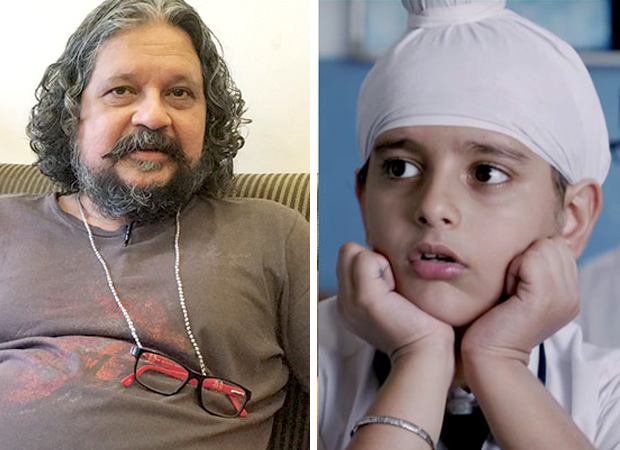He doesn't allow me even a word to speak - Amole Gupte on his Sniff boy Khushmeet Gill