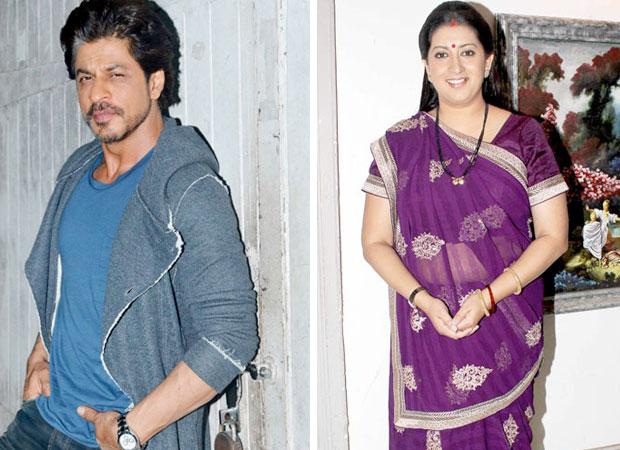 Here's why Shah Rukh Khan appreciated actress turned politician Smriti Irani on social media
