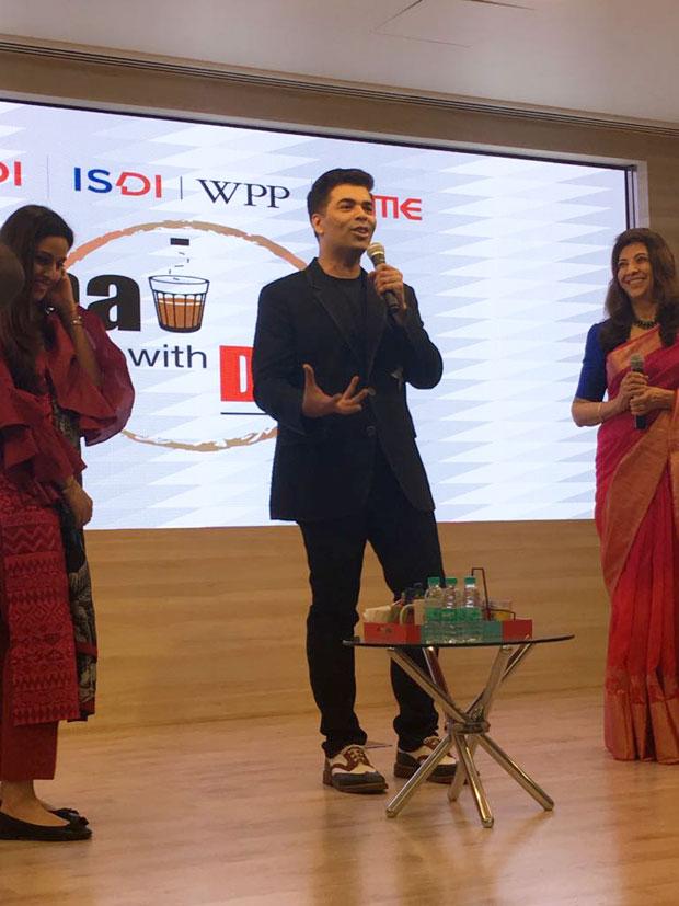 Karan Johar has a chat session at Indian School of Design& Innovation-1