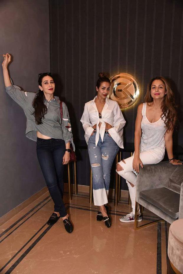 Malaika Arora, Karisma Kapoor, Amrita Arora and Sridevi support Gauri Khan at her new store opening-3