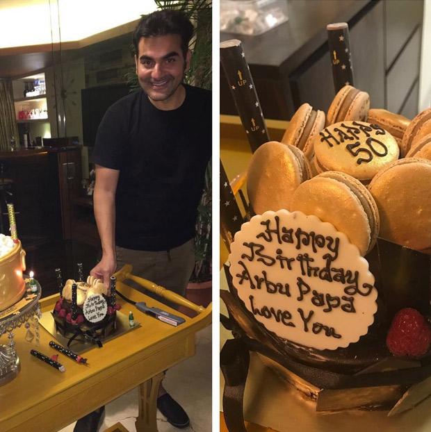 Malaika Arora celebrates birthday of her former husband Arbaaz Khan and here's how she wished him on social media (2)