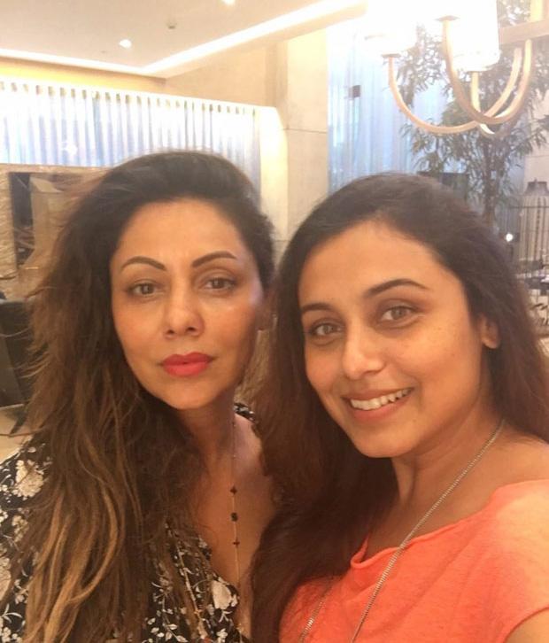 Rani Mukerji-Gauri Khan's No Make-up selfie is quite cool