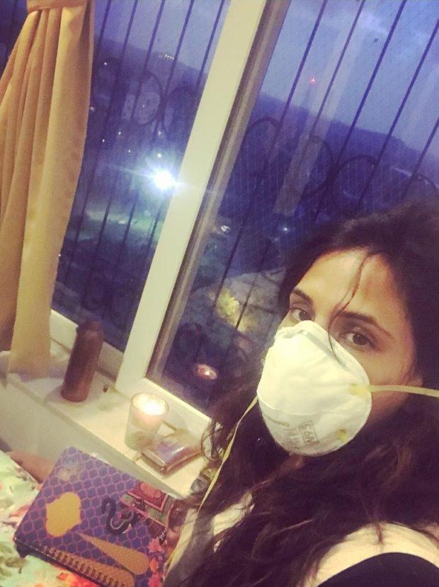 Richa Chadha down with swine flu