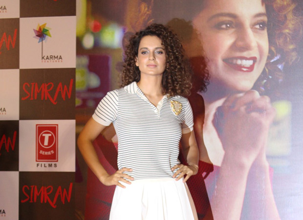 SHOCKING Kangna Ranaut reveals about her near-death experience during Simran's shoot