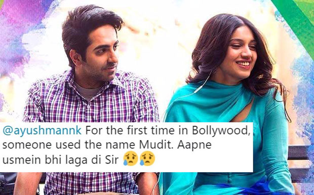 This hilarious conversation between Ayushmann Khurrana and an embarrassed Mudit is not to be missed!