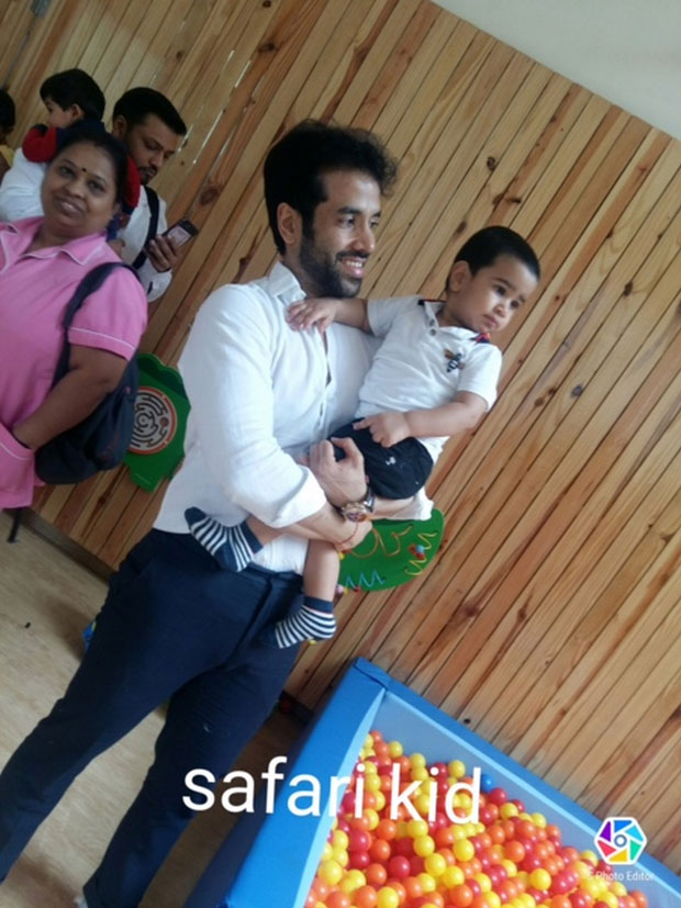 Tusshar Kapoor's son Laksshya Kapoor begins pre-school and it's adorable -1