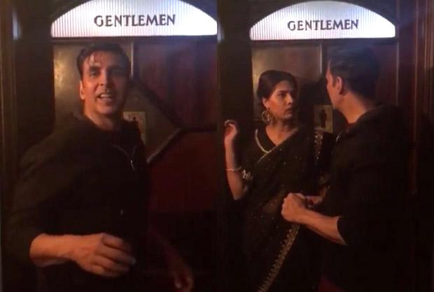 WATCH Akshay Kumar promotes Sidharth Malhotra-Jacqueline Fernandez starrer A Gentleman outside a toilet
