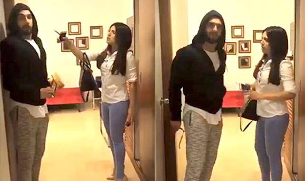 WATCH Ranveer Singh enters Bhumi Pednekar's Toilet and what happens next is hilarious