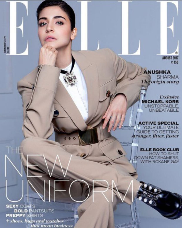 WOW! Anushka Sharma is a chic boss lady on the cover of Elle