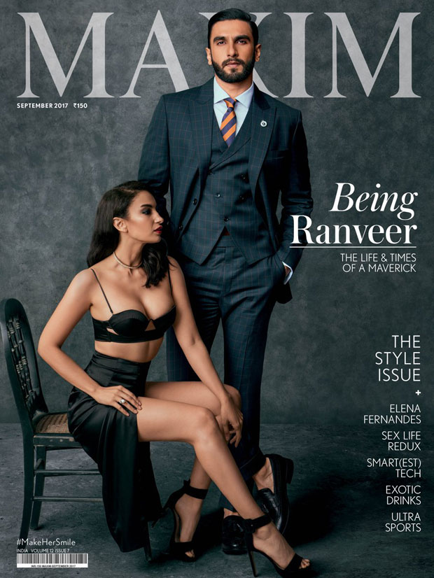 Ranveer Singh is a maverick stud on the cover of Maxim