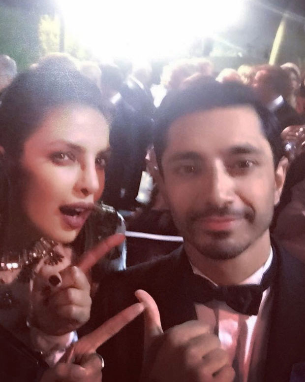 WOW! Priyanka Chopra hung out with Emmys 2017 winners Riz Ahmed and Aziz Ansari (2)