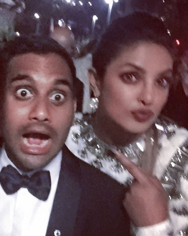 WOW! Priyanka Chopra hung out with Emmys 2017 winners Riz Ahmed and Aziz Ansari (3)