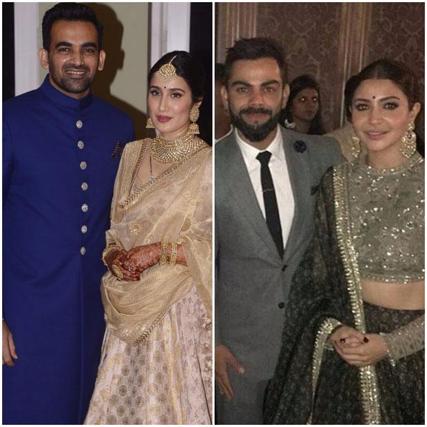 Anushka Sharma - Virat Kohli dance their hearts out at Zaheer Khan - Sagarika Ghatge's wedding reception-1