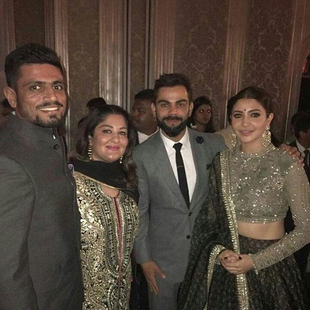 Anushka Sharma - Virat Kohli dance their hearts out at Zaheer Khan - Sagarika Ghatge's wedding reception-2