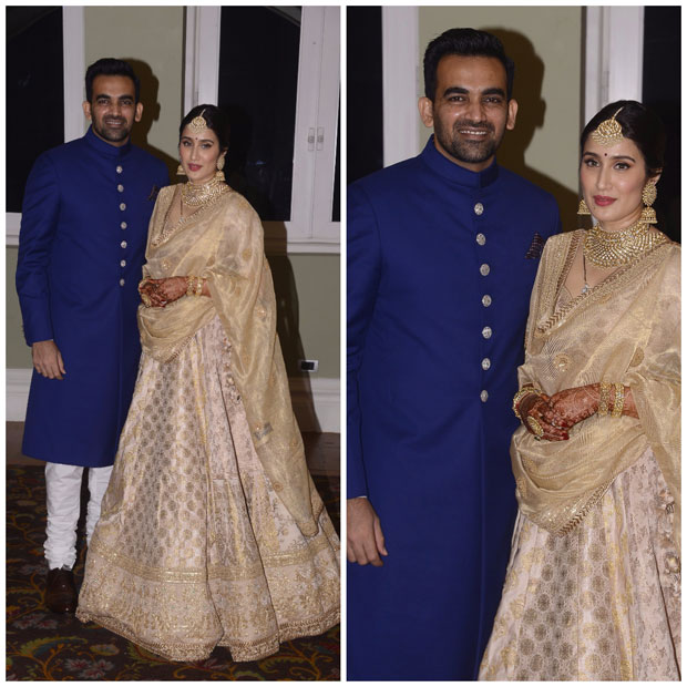 Anushka Sharma - Virat Kohli dance their hearts out at Zaheer Khan - Sagarika Ghatge's wedding reception-4