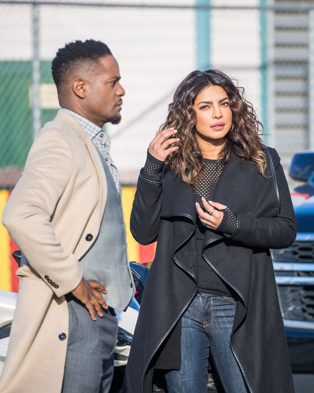 Check out Priyanka Chopra flaunts her new look while shooting for Quantico in NYC1