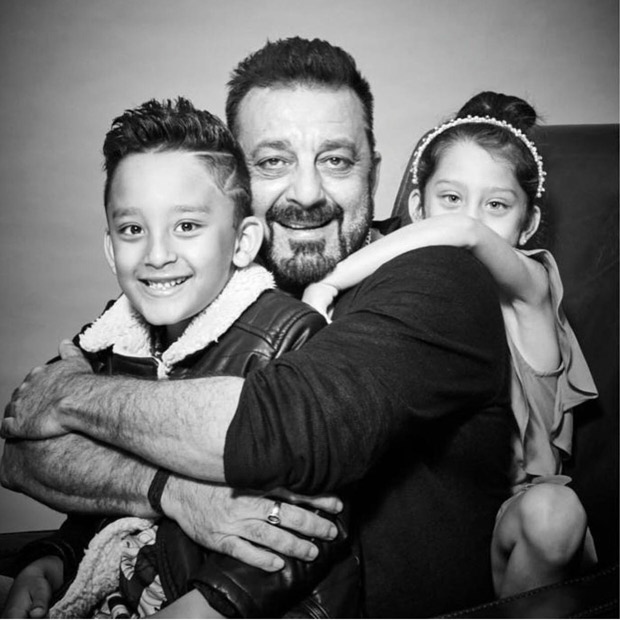 Cute! Sanjay Dutt shares his pictures with his kids on Children's Day (2)