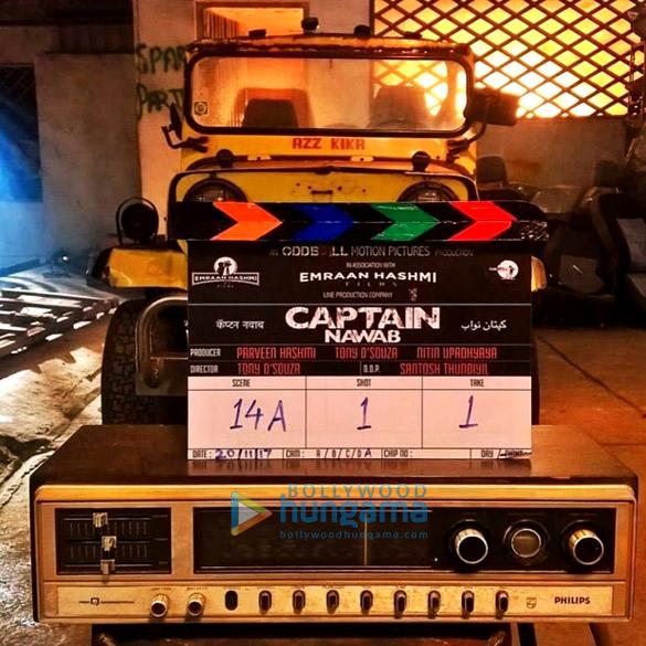 Emraan Hashmi kicks off the shoot of his production Captain Nawab1