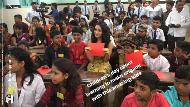 Here's how Shraddha Kapoor celebrated Children's Day in Mumbai (2)