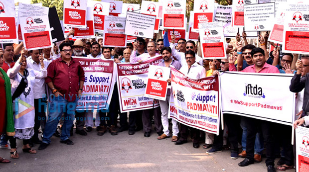 Industry protests against threats being issued against Padmavati (2)