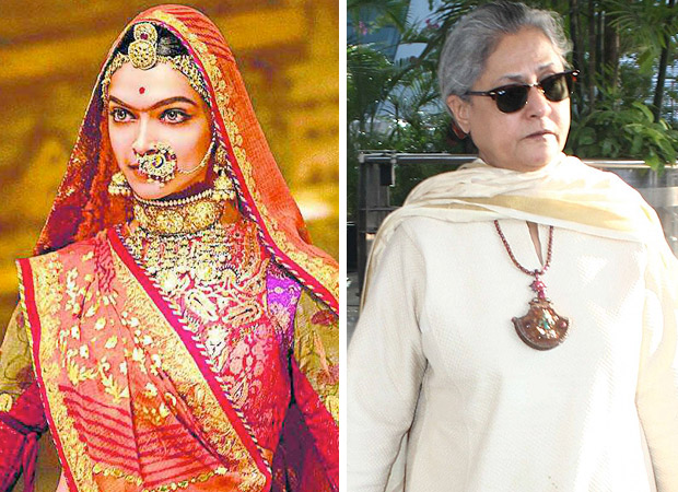 Padmavati controversy to be raised in Parliament's winter session by Jaya Bachchan