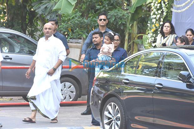 Spotted Aditya Chopra, Rani Mukerji and their