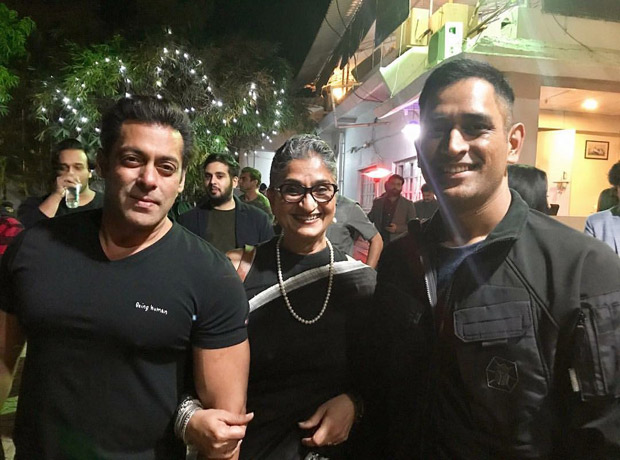 #HappyBirthdaySalmanKhan Salman parties with MS Dhoni, and others; dances on 'Baby Ko Bass Pasand Hai' and 'Shape Of You'
