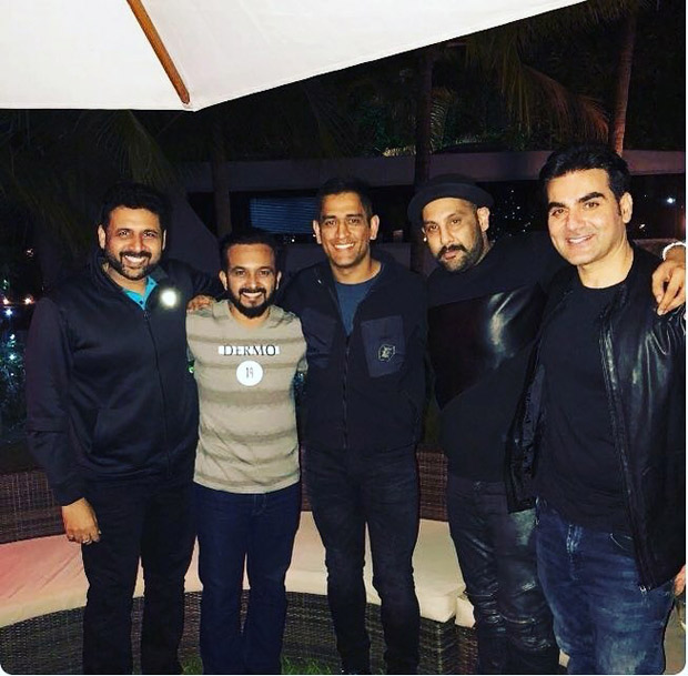 #HappyBirthdaySalmanKhan Salman parties with MS Dhoni, and others; dances on 'Baby Ko Bass Pasand Hai' and 'Shape Of You' (3)