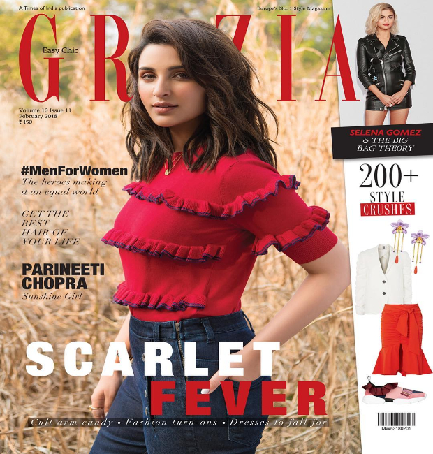 Parineeti Chopra for Grazia February 2018