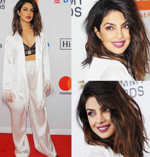 Priyanka Chopra stuns everyone with her appaearance at Clive Davis' Pre-Grammy 2018 party