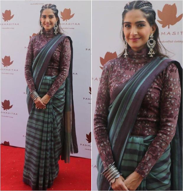 Sonam Kapoor in an Anavila M saree