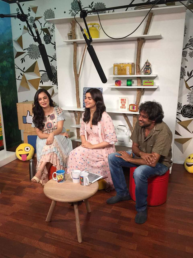 Alia Bhatt attends the latest Coexist initiative with Dia Mirza