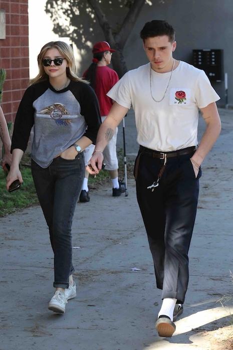 Chloe dating Brooklyn Beckham