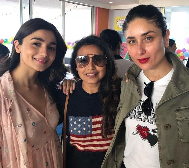 Karan Johar brings three leading ladies Alia Bhatt, Rani Mukerji and Kareena Kapoor Khan together