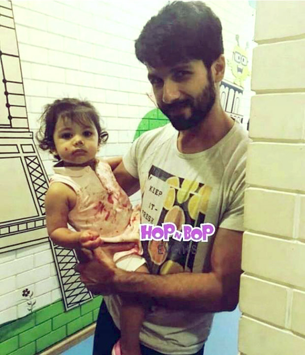 Shahid Kapoor and Misha's colourful moment is a morning dose of cute we desperately need!