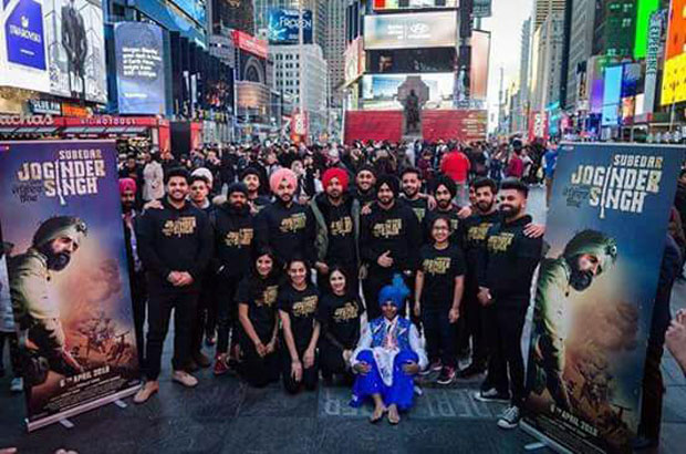 Subedar Joginder Singh,Times Square, New York,Gippy Grewal,Raman Romana,Mela,Features,Grand Music Launch