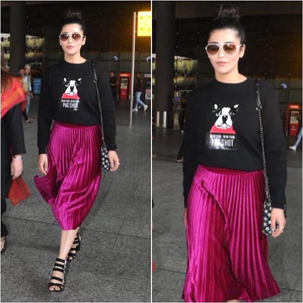 Weekly Airport Style Shruti Haasan