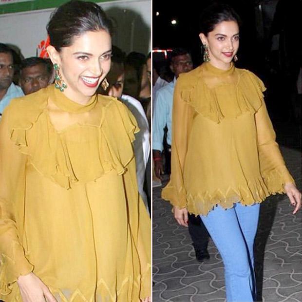 Deepika Padukone in Chloe blouse