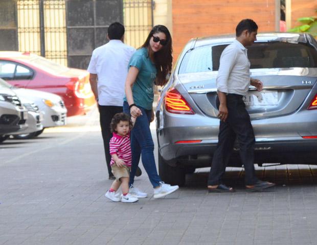 Taimur and Kareena Kapoor Khan