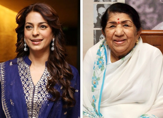Juhi Chawla receives this special message from legendary singer Lata Mangeshkar and here's what it says!