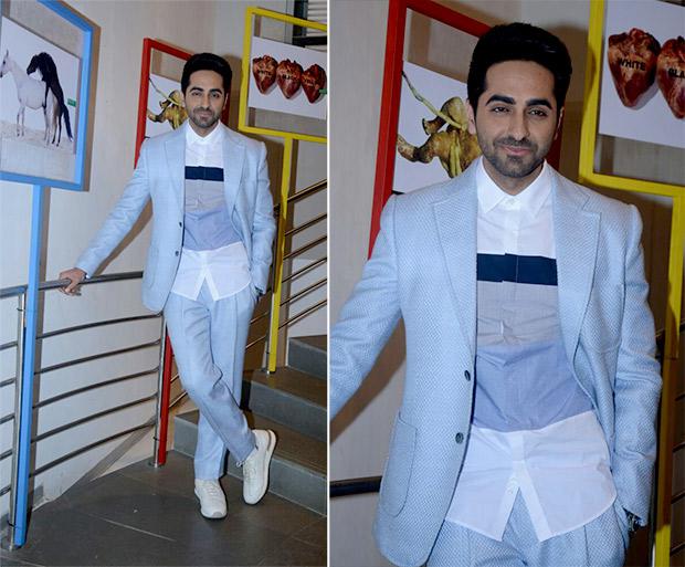 Weekly Best Dressed Celebrities - Ayushmann Khurrana in Dinkar Aneja suit
